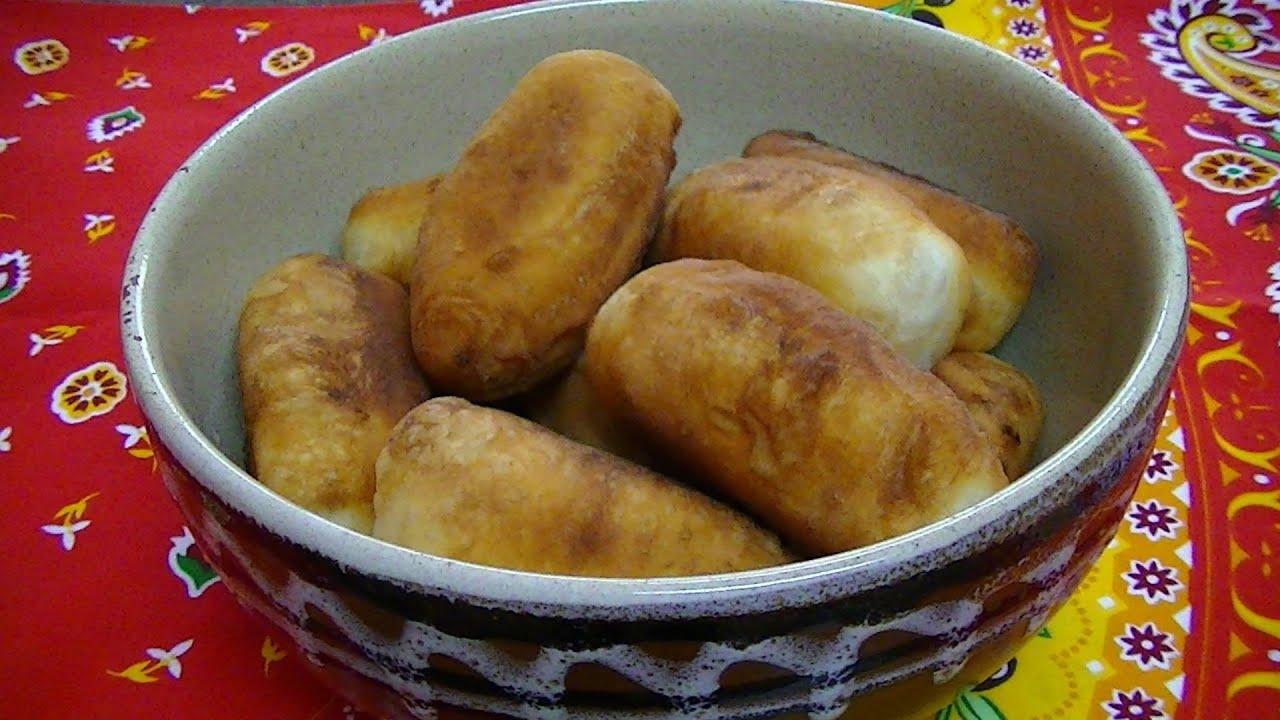 Пирожки с мясом жареные на сковороде на кефире рецепт