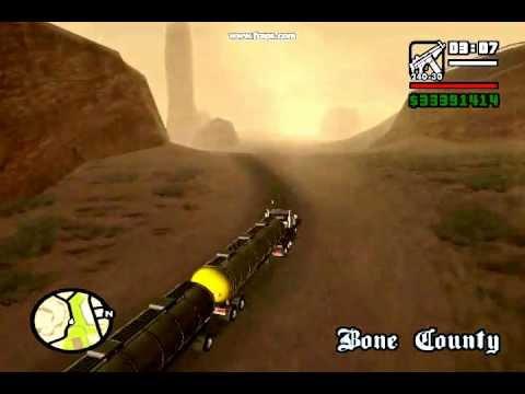 Grand Theft Auto San Andreas Mods - Extreme Roadtrain