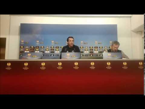 Rueda de prensa de Unai Emery previa al Sevilla-Zenit