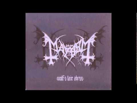 Mayhem - The Vortex Void Of Inhumanity