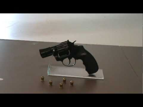 Viper 9mm Black Blank Firing Revolver