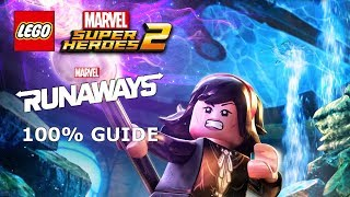 The Great Escape DLC 100% Guide (Minikits & Stan Lee) - LEGO Marvel Super Heroes 2