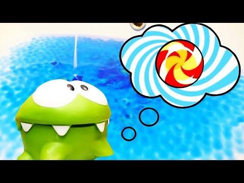 Om Nom videos for kids. Kids' toys.
