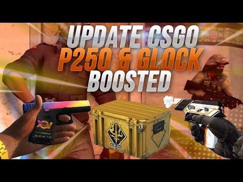 P250 & GLOCK BOOSTED SPECTRUM CASE 2 CSGO UPDATE