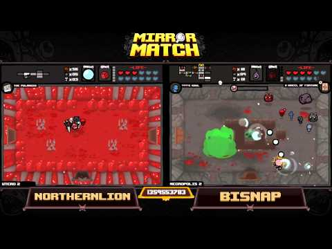 Northernlion vs. Bisnap: The Binding of Isaac Mirror Match!