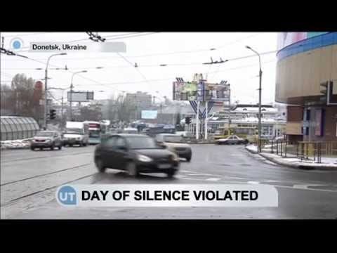 Ukraine Says 'Day Of Silence' Violated: Fighting reported in Donetsk despite ceasefire hopes
