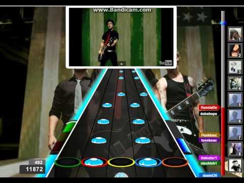 American Idiot – Green Day 100% FC Dificil – Guitar Flash