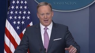 LIVE: Press Secretary Sean Spicer Full Press Conference | ABC News