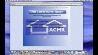 Ada County Market Report Guided Tour