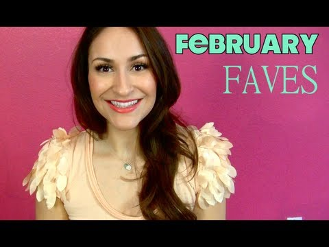 FEBRUARY 2013 BEAUTY FAVES