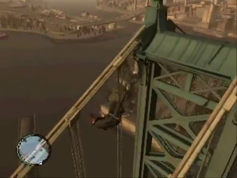 Gta 4 pc Caidas, golpes y accidentes (parte 8)