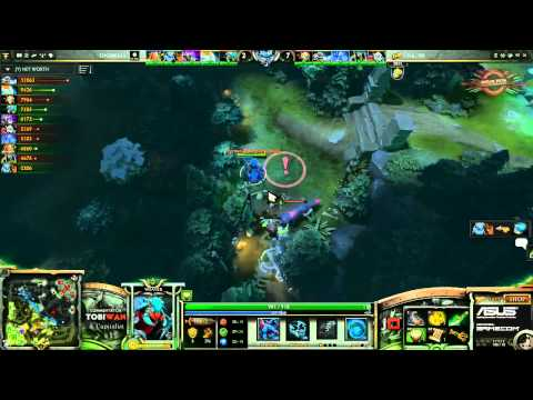 Natus Vincere vs Team Dignitas Game 3   Dreamhack Summer 2013 DOTA 2  Quarter Final TobiWan