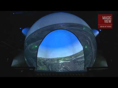 RP-360 flight simulation dome