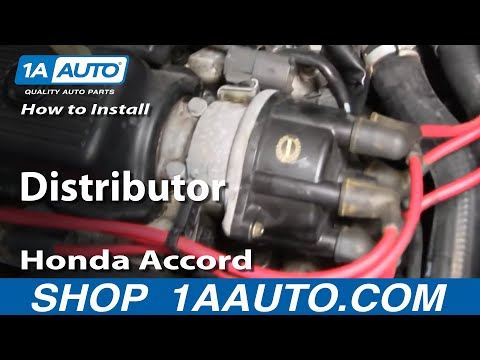 How To Install Replace Distributor Honda Accord V6 2.7L 95-97 1AAuto.com