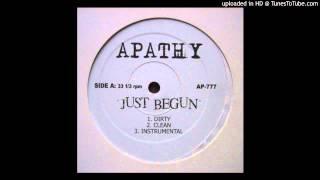 Watch Apathy Just Begun video