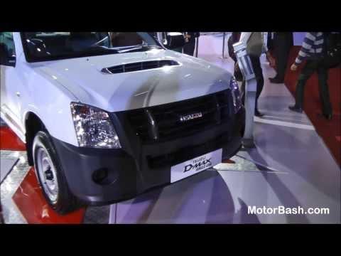 Isuzu D Max (Uncut) - Auto Expo 2014 Delhi, India