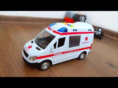 City Service Машина скорая помощь Обзор игрушек машинок Видео для детей про машинки игрушки