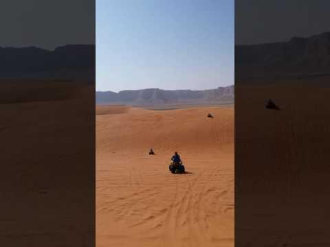 Red Sand motor bike Riyadh