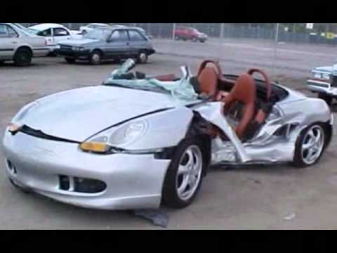 Porsche Crash Pictures Accidents Wrecks Youtube