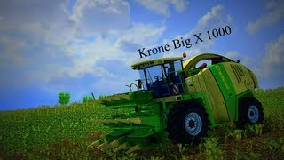 Farming Simulator 2013 Krone Big X 1000 (Silage)