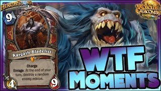 Hearthstone - WTF Moments RAGE - Kobolds Funny and lucky Rng Moments