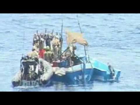 Navy blasts pirate boat
