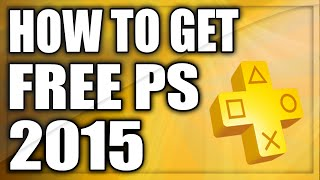 How To Get FREE Playstation Plus 2016! - AFTER PATCH! - Working 2016 (Free Ps Plus Glitch)