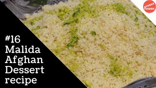 Malida recipe - Afghan Sweets
