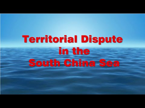 Territorial Dispute in the South China Sea