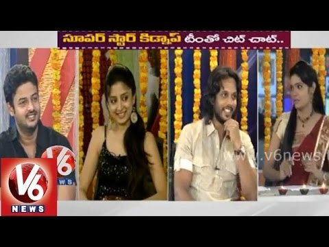 """Superstar Kidnap"" movie team in V6 chit chat - Poonam Kaur, Aadharsh Balakrishna"