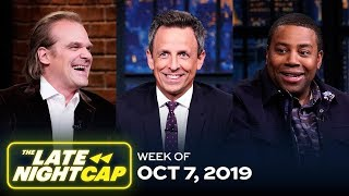 The Late NightCap: Week of 10/7/19