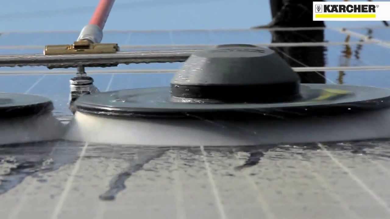 Nettoyeur panneau photovoltaique karcher by bresse hygiene for Panneau solaire plug and play