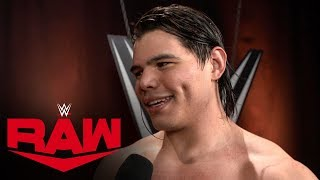 Did Andrade take Humberto Carrillo too lightly?: Raw Exclusive, Dec. 9, 2019
