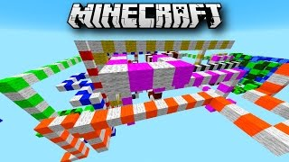 Minecraft Parkour - SNAKE OBSTACLE PARKOUR with Vikkstar & Mitch