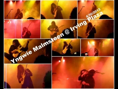 Yngwie Malmsteen Guitar Virtuoso Live in New York @ Irving Plaza 4/30/2013