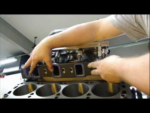 Port Match and Polishing Cylinder Heads