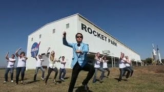 Hit Song Gangnam Style Goes NASA Johnson Style! (Gangnam Style Parody)