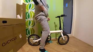 Распаковка XIAOMI MIJIJA QiCycle
