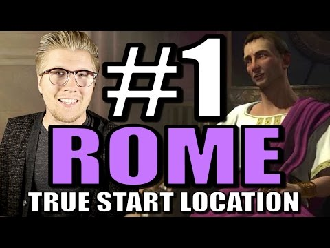Civilization 5: Brave New World Gameplay - Rome Europe Mod [Part 1] Strategy!