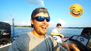 The FUNNIEST Fishing video with BIG BASS - I CAN'T STOP LAUGHING