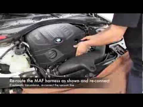 2012-2013 BMW 335i (F30) N55; P/N 54-82202 Intake Installation Video
