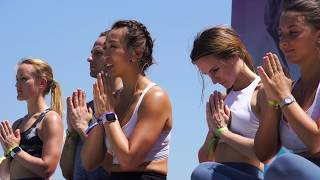 Harmonious Flow at IRIS yoga festival - highlights