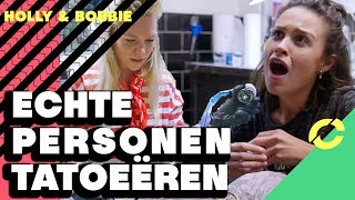 WIE IS DE BESTE TATOEËRDER | HOLLY & BOBBIE - CONCENTRATE
