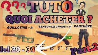 download musica GUNS OF BOOM Fr - TUTO Part2 = QUOI ACHETER?? lvl 20 a 34