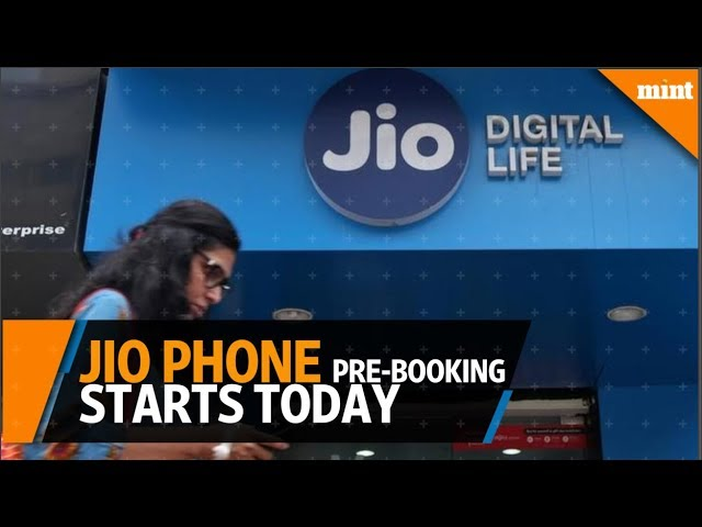 Pre-booking of Reliance Jio Phone starts today for Rs 500