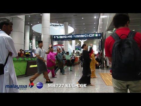 Malaysia Airlines Business Class MH727 Kuala Lumpur (KUL) to Jakarta (CGK)