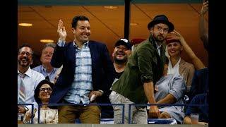 Download Lagu Jimmy Fallon and Justin Timberlake Dance Away at the US Open Gratis STAFABAND