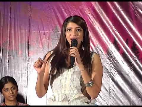 Actress Manchu Lakshmi Emotional Speech  Priyadarshi Rakul Preet  Mohan Babu || Tollywood Film News