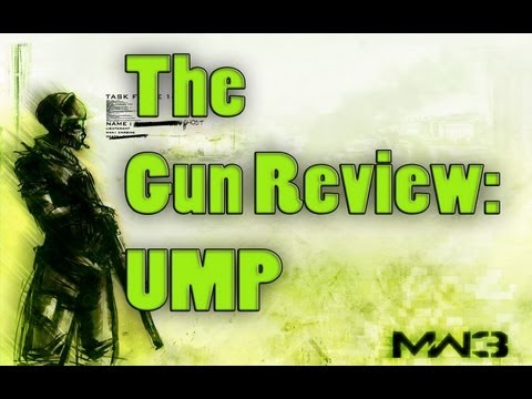 The MW3 Gun Review - Ep. 4: UMP (Modern Warfare 3 Guns and Attachments Reviewed)