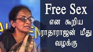 Jallikattu Protest - Case against charged Radha Rajan